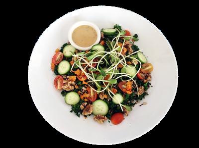 Ananda salad with quinoa